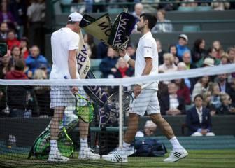 Djokovic suspende a un solo set de caer ante Querrey