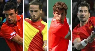 Bautista, Feliciano, Carreño y Marc López, para Rumanía