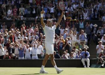 Federer gana un partido épico a Cilic y logra las semifinales