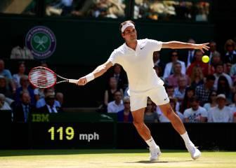 Federer reta a la historia y buscará la final ante Raonic