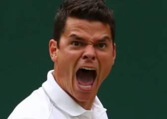 Raonic gana a Federer y jugará su primera final de Grand Slam
