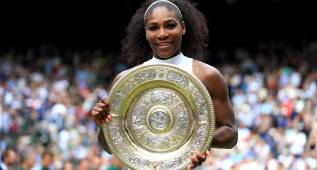Serena Williams gana la final de Wimbledon