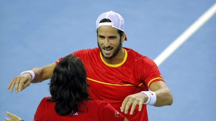 Rumania gana a España en el dobles : Copa Davis eliminatoria