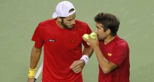 El dobles de Rumanía acorta distancias: 2-1 para España