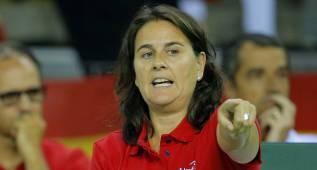 "Conchita: ""España merece estar en el Grupo Mundial"""