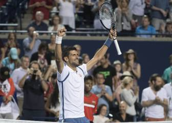 Novak Djokovic buscará su 30º Masters 1.000 ante Nishikori