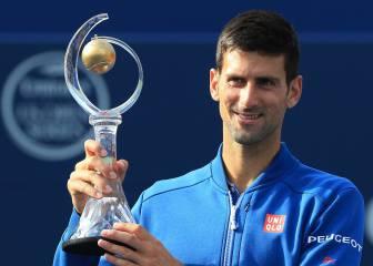 Nadal, 5º puesto en un ranking mundial dominado por Djokovic