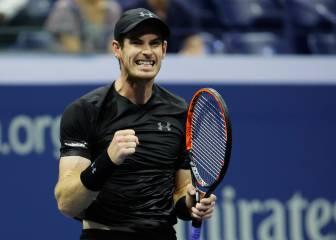 Murray y Nishikori debutan con victoria en el US Open