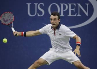 Bautista y Almagro pasan a tercera ronda en el US Open
