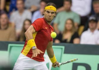 Nadal y Ferrer regresan para buscar el ascenso ante India