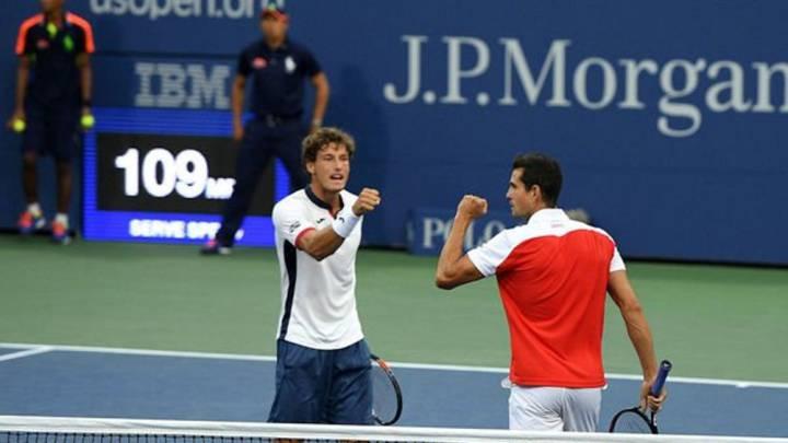 Carreño y García-López jugarán la final de dobles del US Open