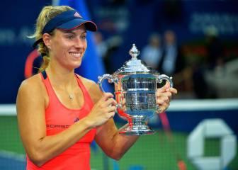 Kerber abrochó el número uno con su primer US Open