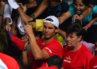 Según Feliciano, Nadal no jugó por precaución con la muñeca