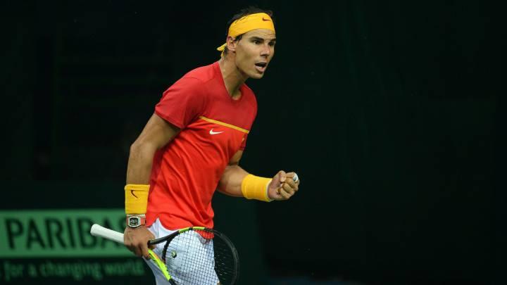 Rafa Nadal, 22 victorias en 23 partidos de Copa Davis