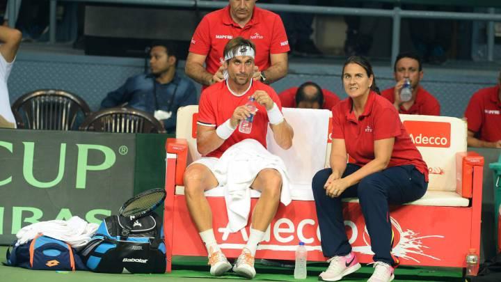 Ferrer y Marc López adornan el ascenso a primera con un 5-0