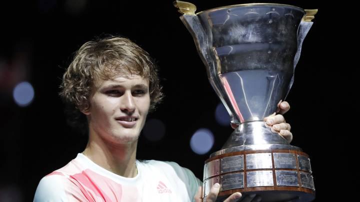 Zverev consigue su primer título tras ganar a Wawrinka