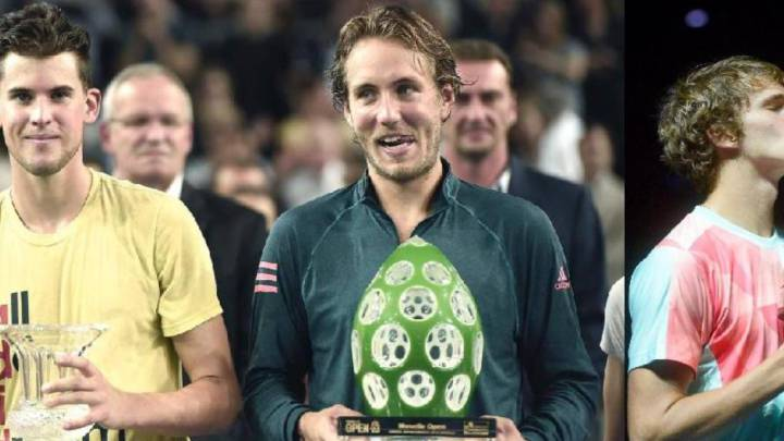Zverev, Pouille, Thiem... los jóvenes piden paso en el tenis