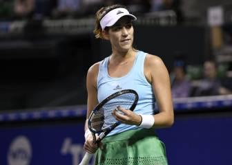 Garbiñe inicia la reconquista del podio WTA en Pekín