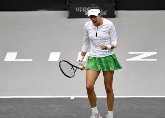 Muguruza inicia con buen pie su asalto a las WTA Finals