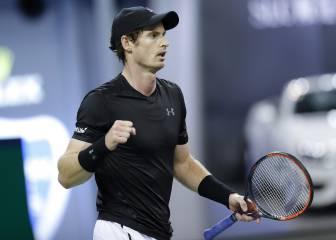 Murray pasa a cuartos; Monfils y Wawrinka, eliminados