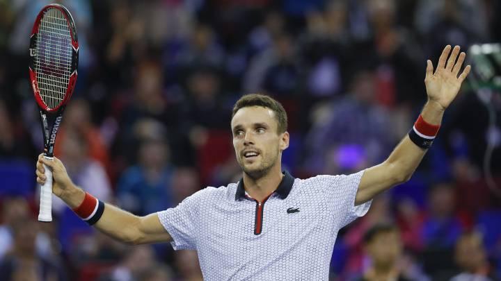 """Bautista, tras su triunfo: """"Como y duermo pensando en el tenis"""""""