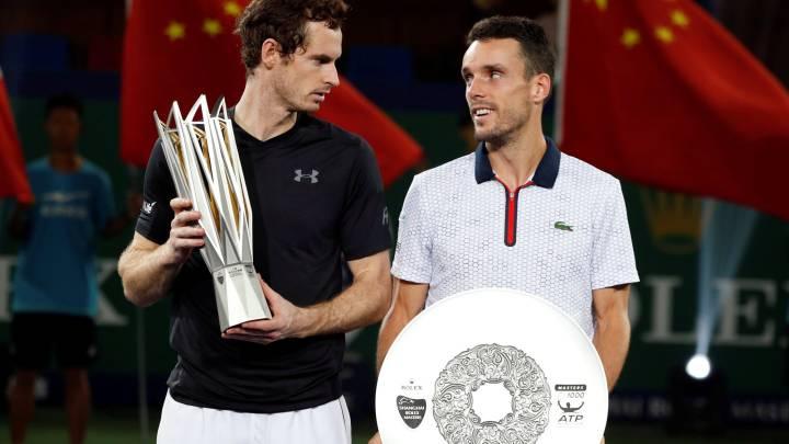 Un Murray enorme acaba con el sueño de Bautista en Shanghai