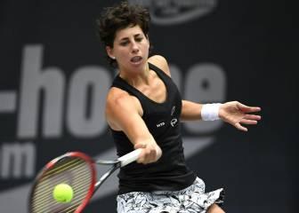 Carla Suárez se retira, pero irá al Masters como suplente