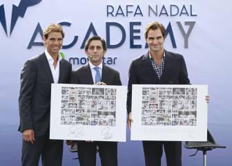 Nadal inaugura su academia con Federer: