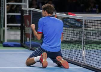 Carreño remonta ante Fognini y gana su segundo título ATP