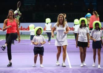 Muguruza debuta ante Pliskova en el WTA Finals más abierto