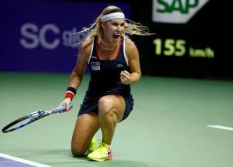 Cibulkova y Kerber llegan a las semifinales de las WTA Finals