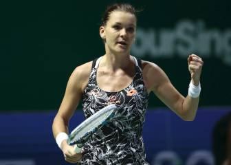 Radwanska doma el saque de Pliskova: a semifinales
