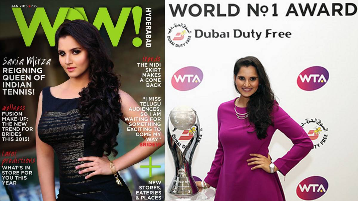 Sania Mirza: número 1 en dobles y superestrella en la India