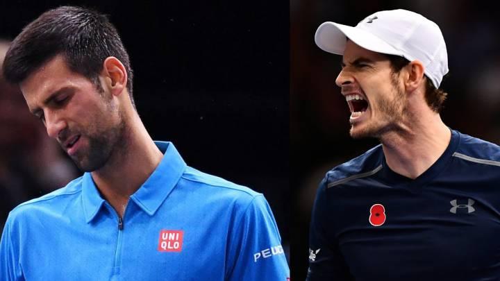 Cilic derriba a Djokovic: Murray, a una victoria del número uno