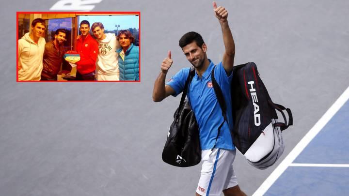 ¿Por qué Novak Djokovic no se enfada tanto ahora?