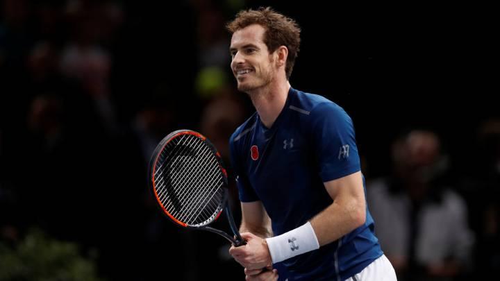 Cómo y dónde ver el Murray vs Isner de París-Bercy: Horarios y TV