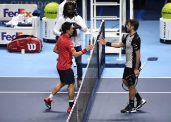 Nishikori, el japonés de Florida, gana y lucha por el podio