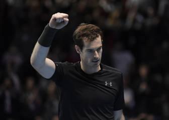 Murray se agarra al trono, echa a Wawrinka y evita a Djokovic