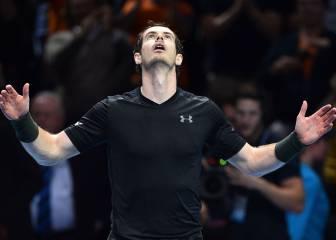 Murray levanta una bola de partido y se agarra al uno