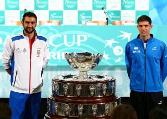 Argentina y Del Potro, contra la maldición en la Copa Davis