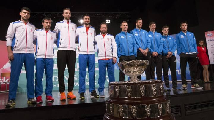 Cómo y dónde ver la final de la Copa Davis: Croacia - Argentina