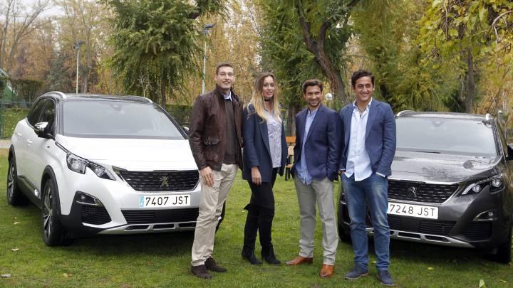 Peugeot reúne al presente y al futuro del tenis español