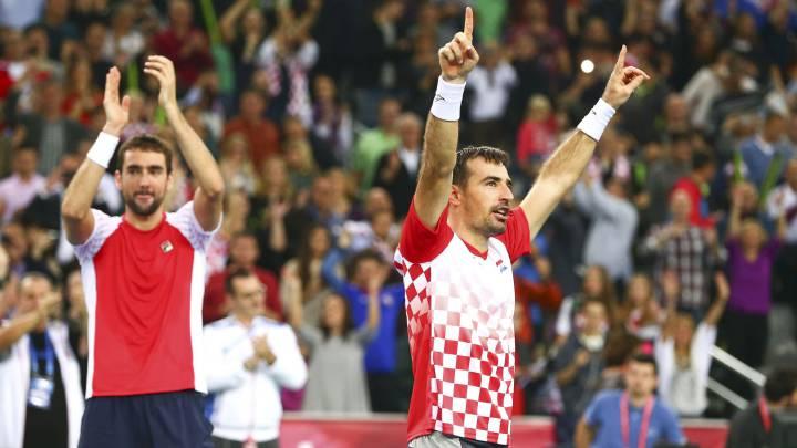 Croacia gana el dobles y acaricia su segunda Copa Davis