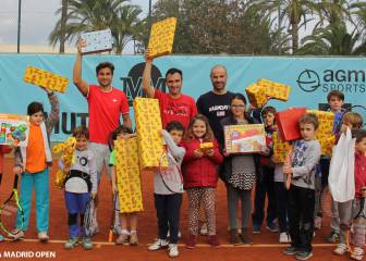Ferrer y Berasategui, en la campaña 'Un Juego, un Juguete'