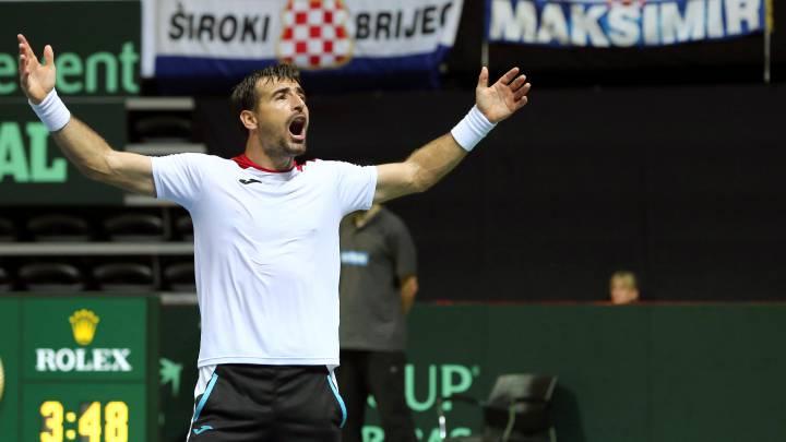 El doblista Dodig, baja croata en la eliminatoria contra España