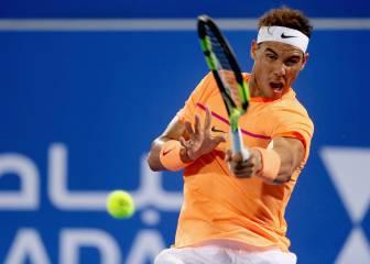 Rafa Nadal anuncia que tiene hambre: 6-0 y 6-4 a Berdych
