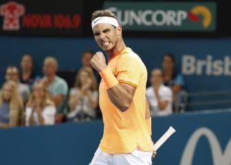 Show Nadal: gana y se gusta ante Mischa Zverev
