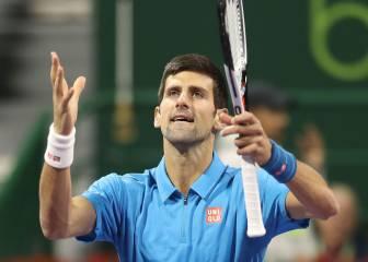 Djokovic levanta ¡cinco bolas! de partido a un gran Verdasco