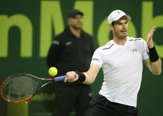 Murray amplía la ventaja con Djokovic pese a caer en Doha