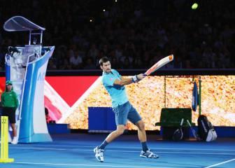 Una noche con Djokovic